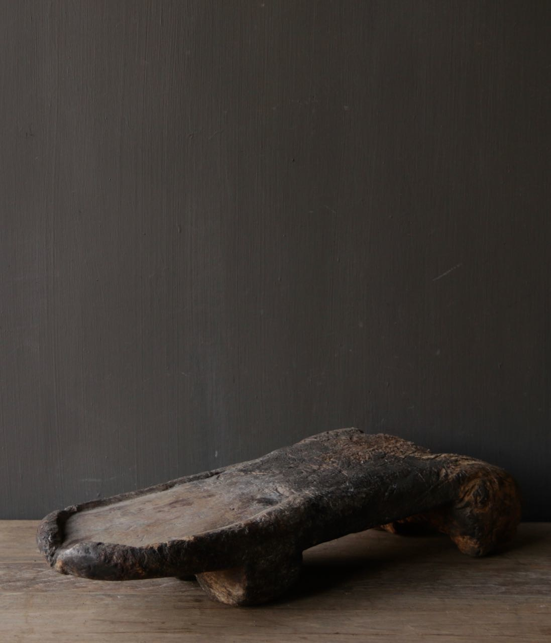 Oude houten Naga Plank-3
