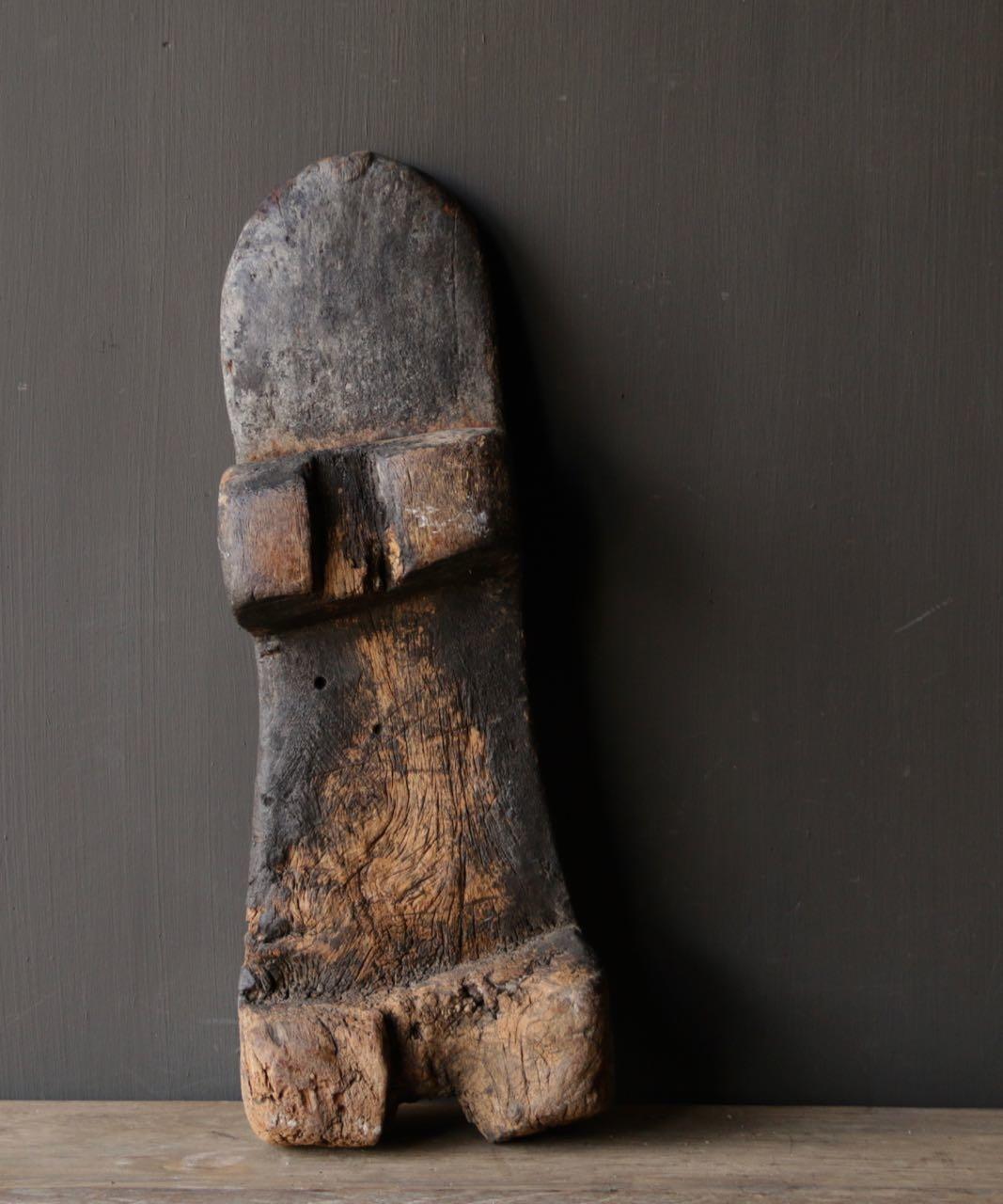 Oude houten Naga Plank-5