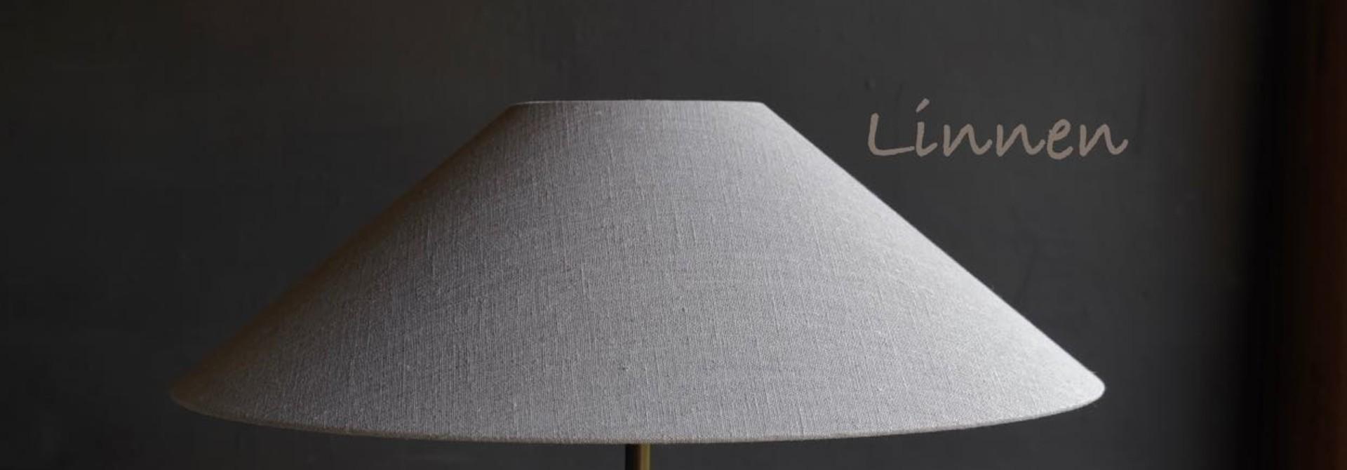 Schuine lamp kap  50x12cm