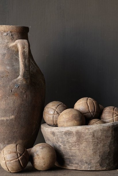 Authentic wooden ball