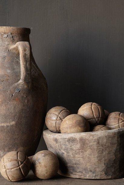 Authentieke houten bal