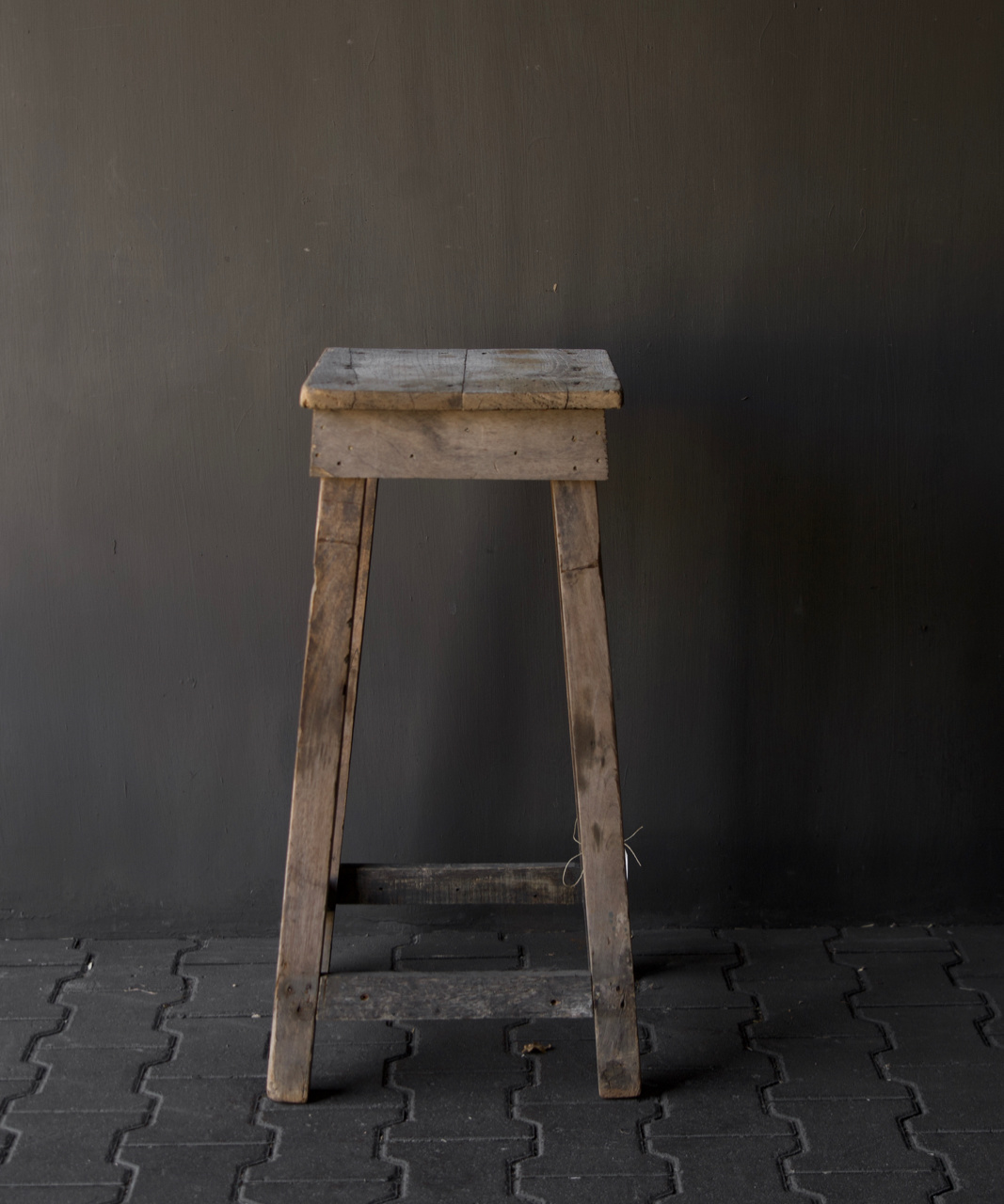 Old Wooden plant table-4