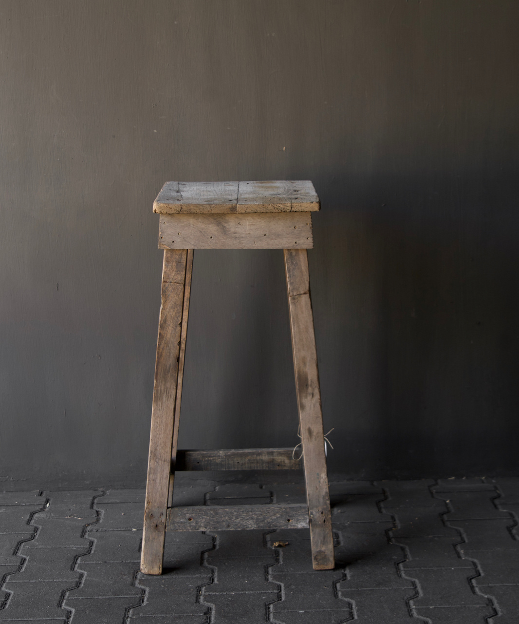 Old Wooden plant table-7