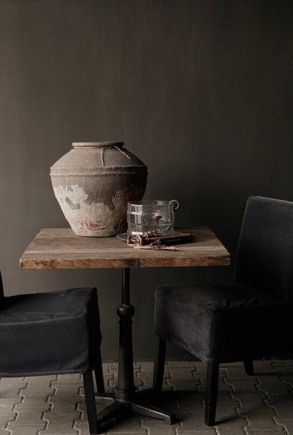 Los  stoer robuust oud houten tafelblad