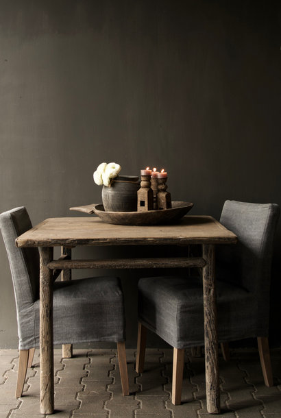 Old Authentic square dining table