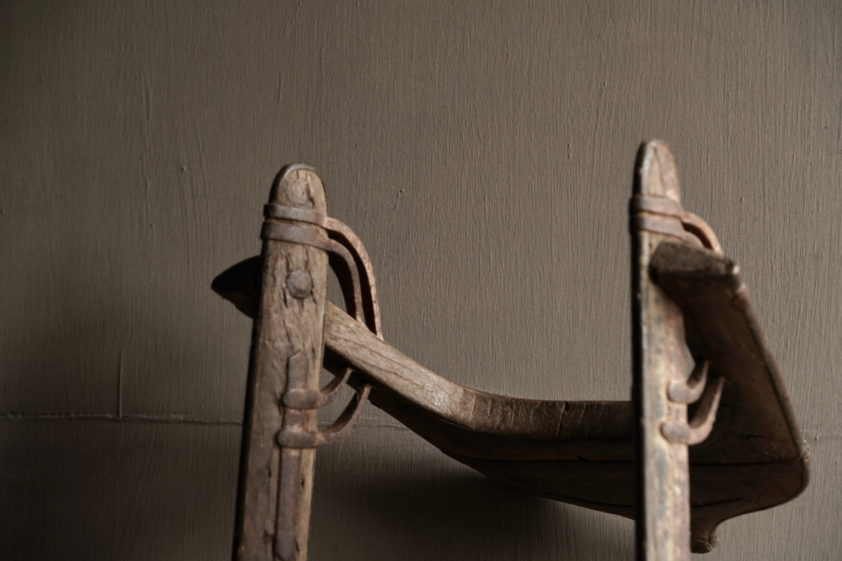 Old Authentic wooden Camel seat-5