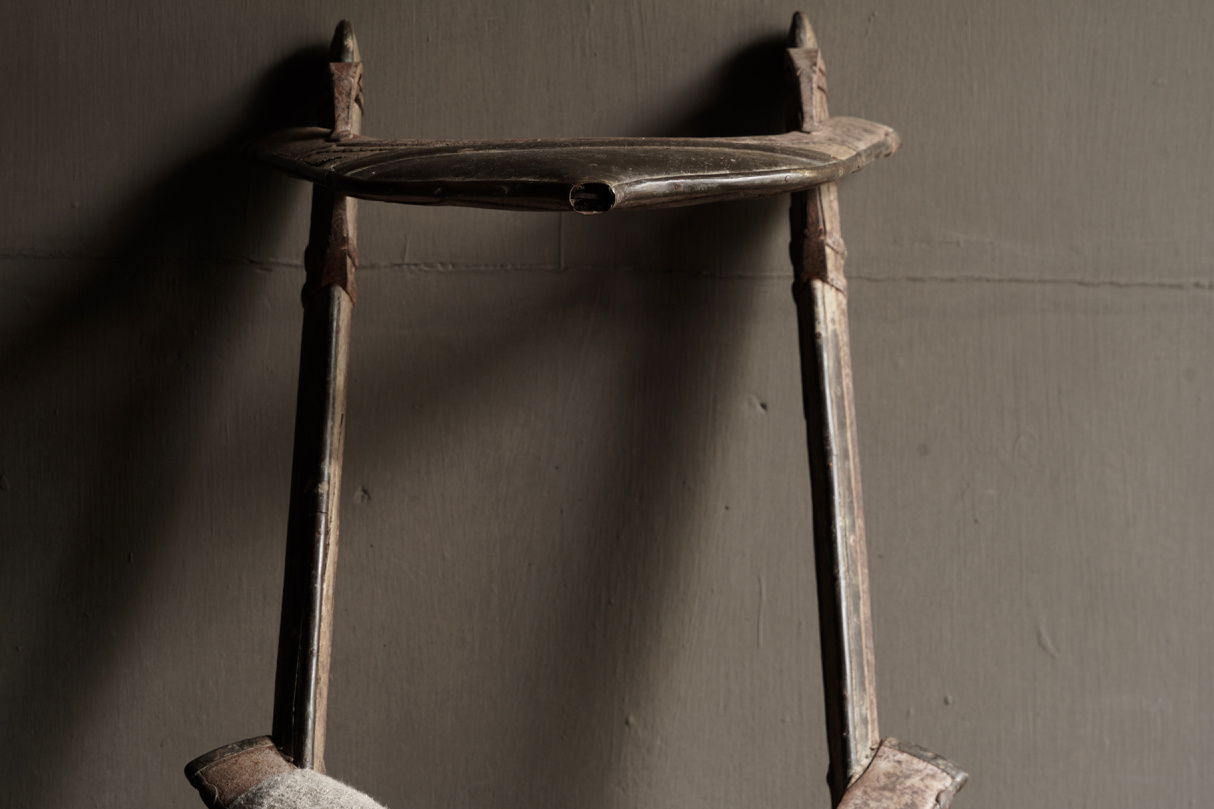 Old Authentic wooden Camel seat-7