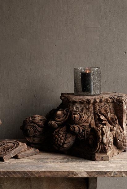 Unique old wooden ornament