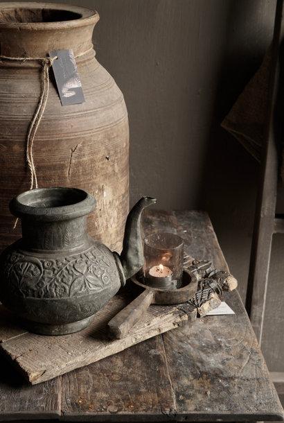 Osmanischer antiker Krug aus Zinn / Kupfer