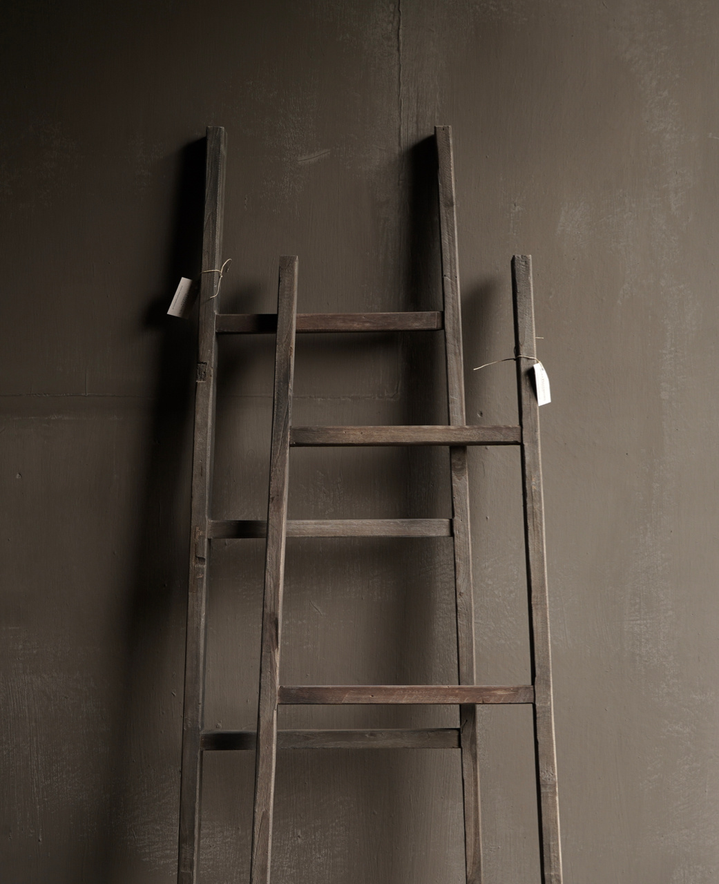 Stair / ladder made of old wood-2