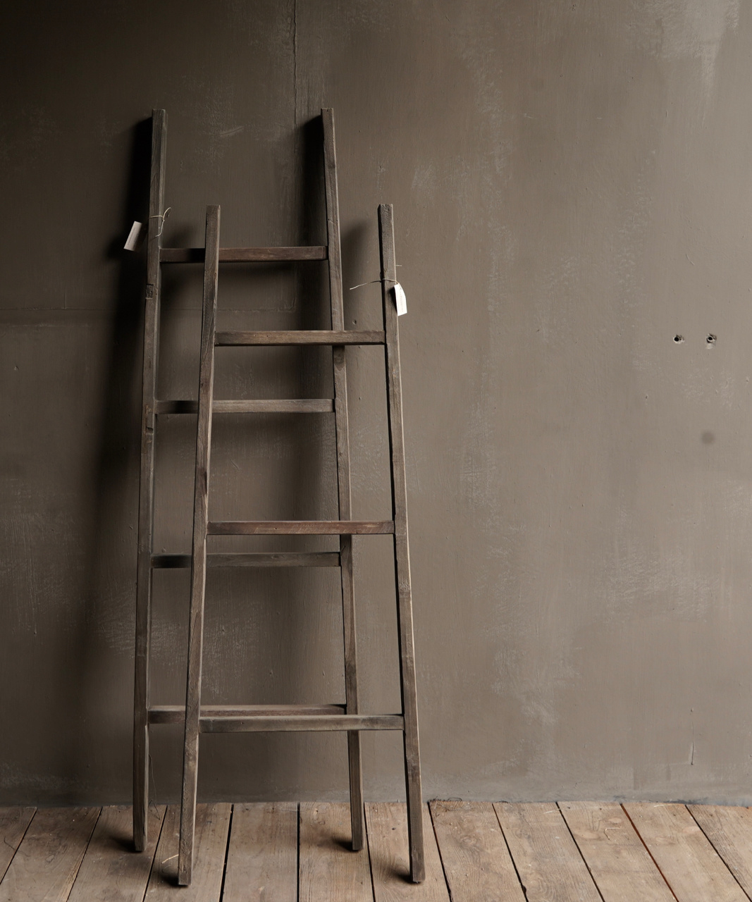 Stair / ladder made of old wood-4