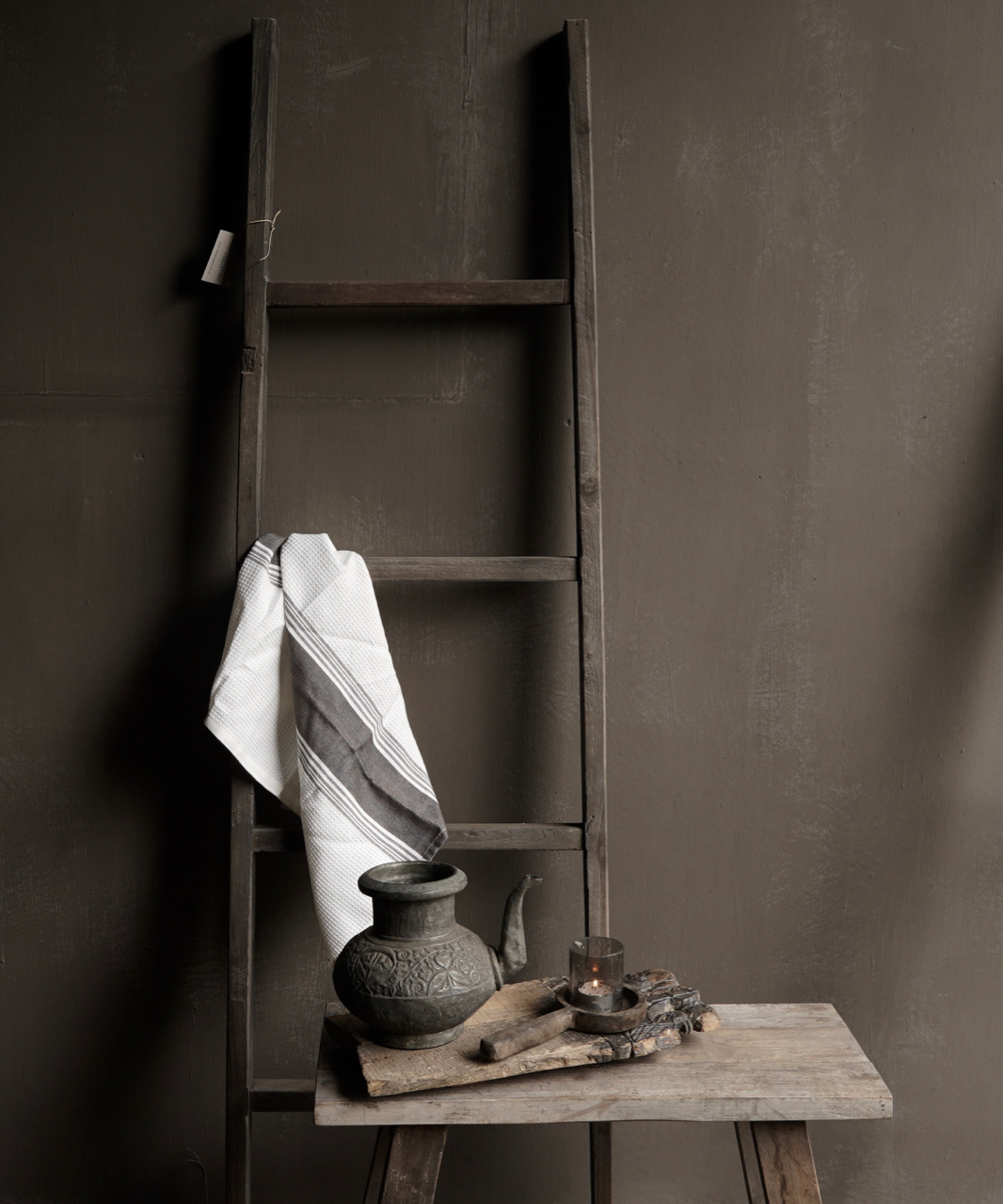 Stair / ladder made of old wood-6