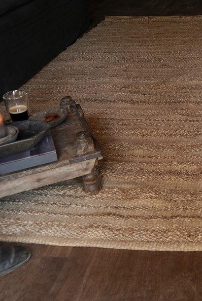 Robuster natürlicher Juteteppich / Teppich