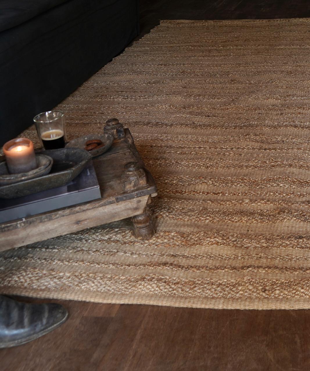 Robuster natürlicher Juteteppich / Teppich-1