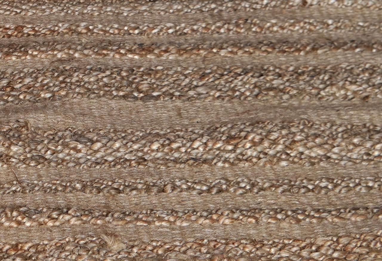 Robuster natürlicher Juteteppich / Teppich-4