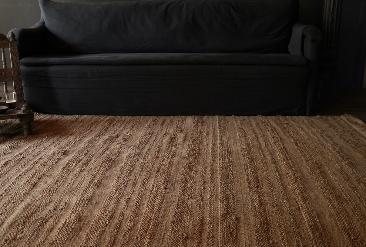Tough Natural Jute Rug / Carpet-6