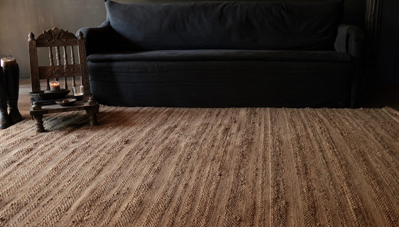 Tough Natural Jute Rug / Carpet-8