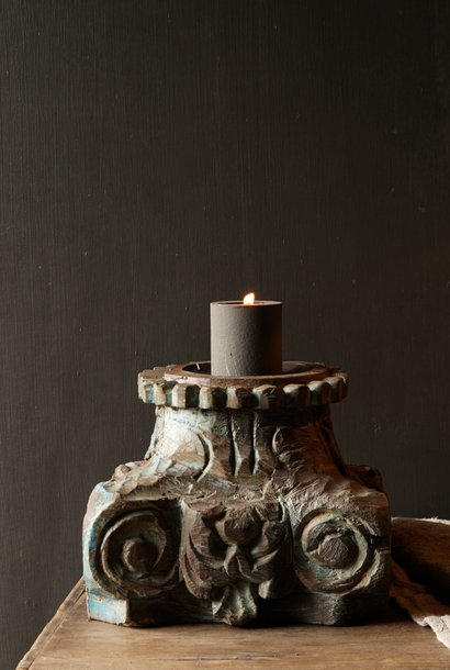 Old Authentic pure candlestick