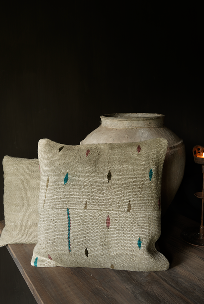 Beautiful cool hemp cushion