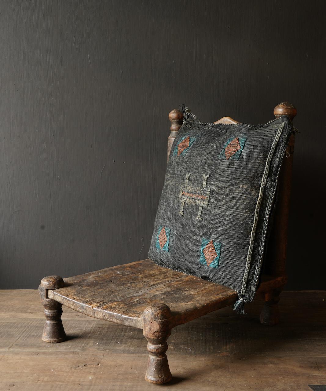 Wunderschöner handgefertigter Kissenbezug aus Steinwäsche-2