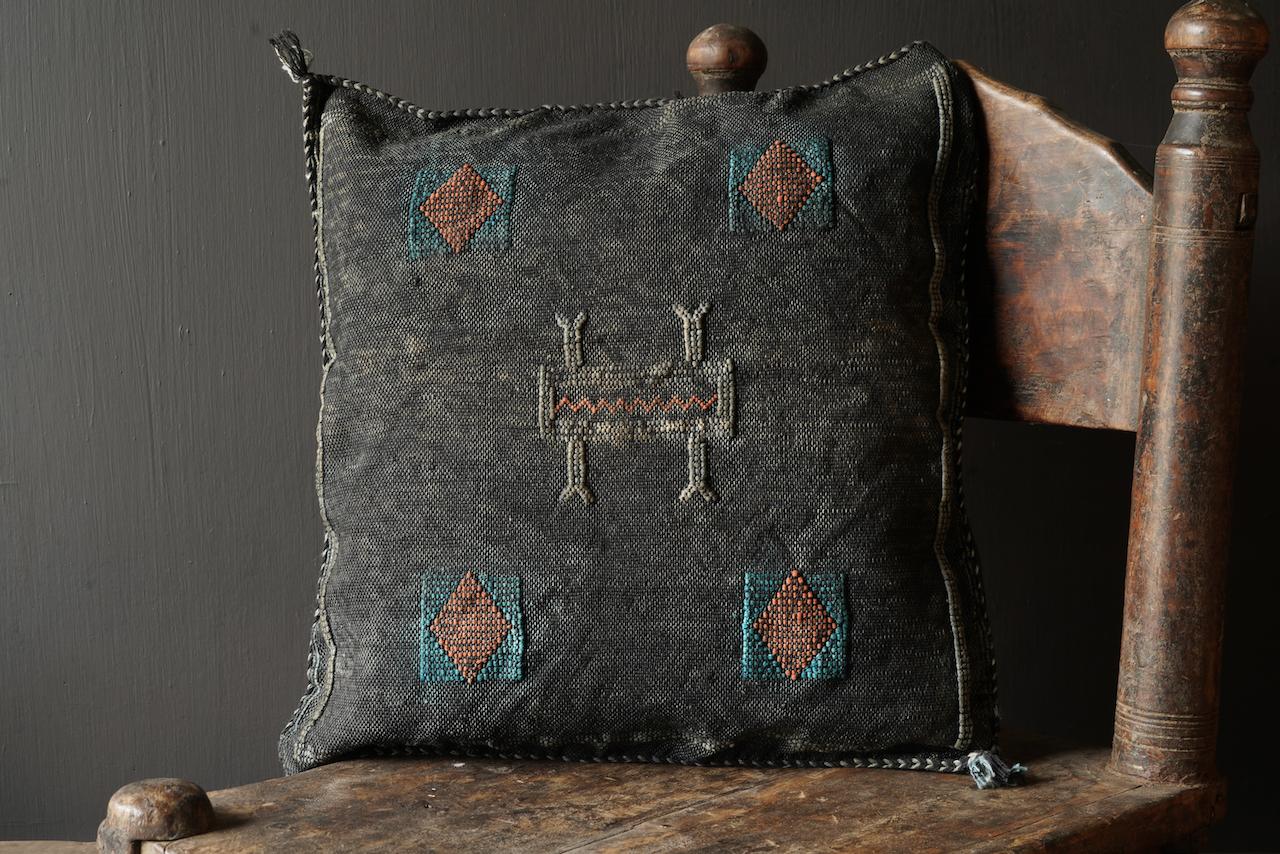 Wunderschöner handgefertigter Kissenbezug aus Steinwäsche-4