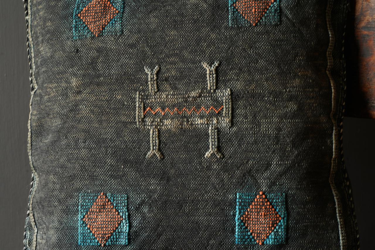 Wunderschöner handgefertigter Kissenbezug aus Steinwäsche-5