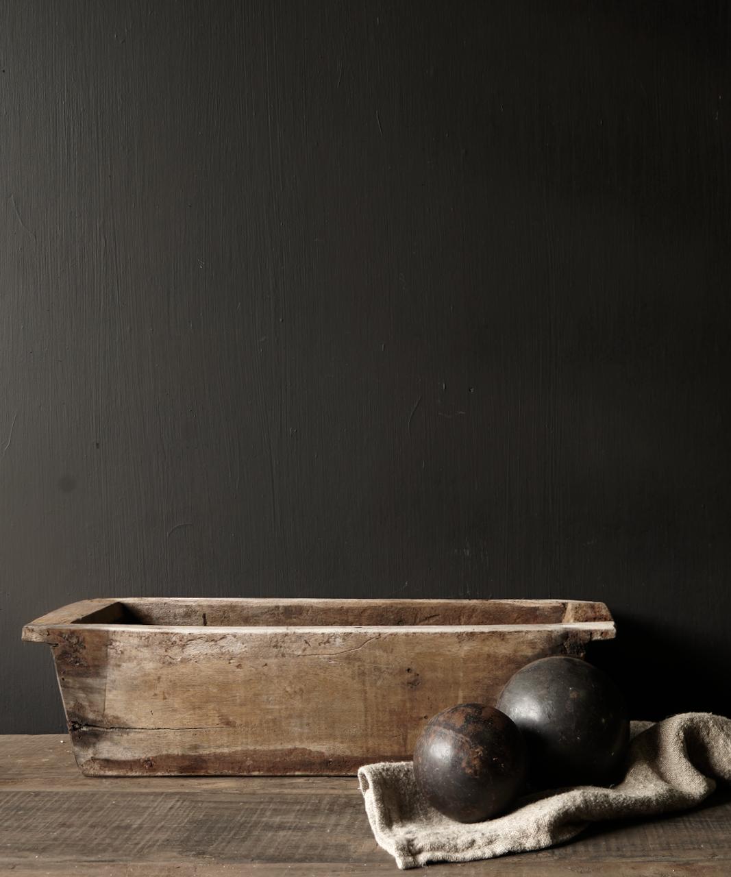 houten bak gemaakt van oud hout-1