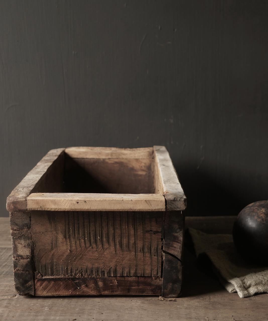 houten bak gemaakt van oud hout-3