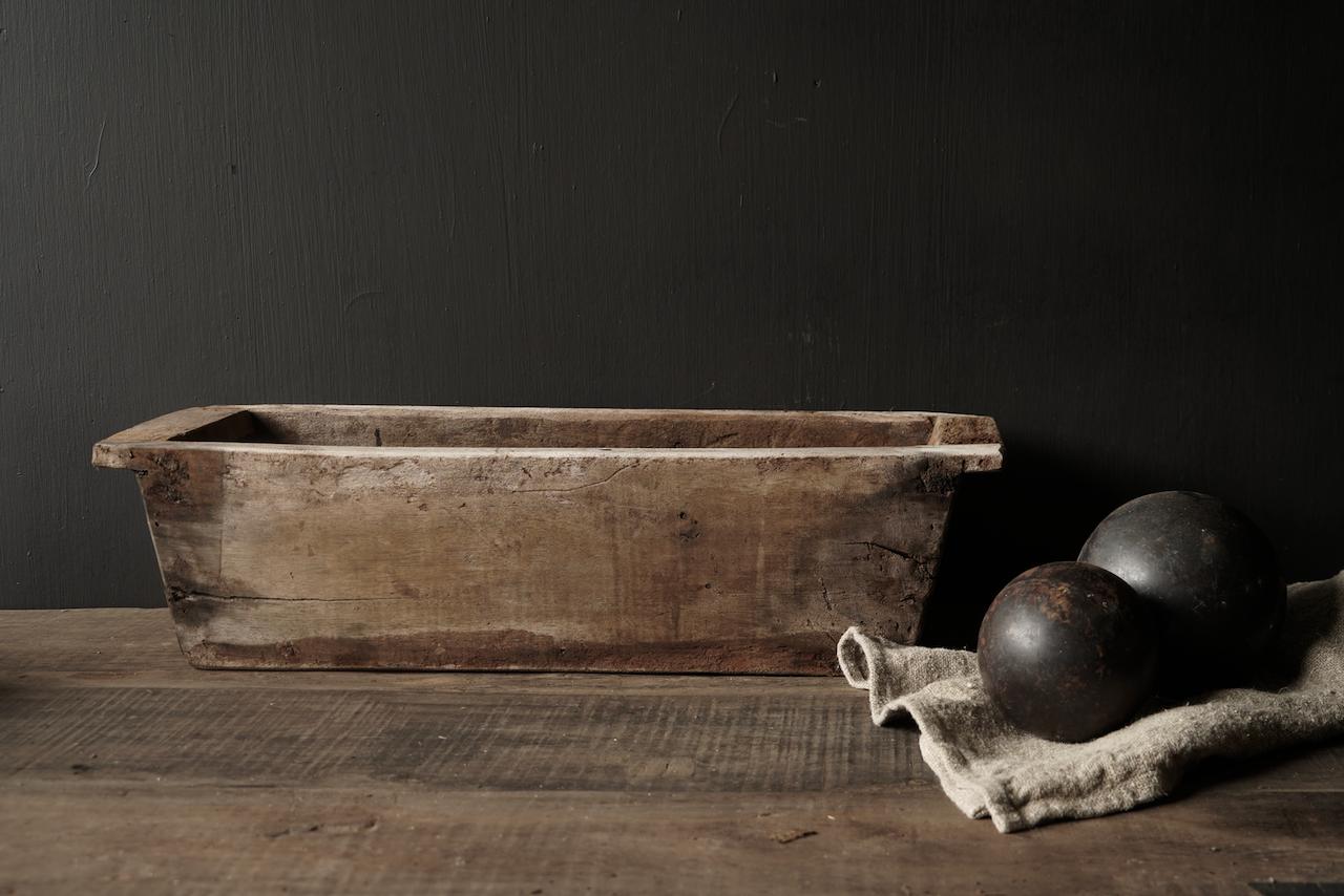 houten bak gemaakt van oud hout-4