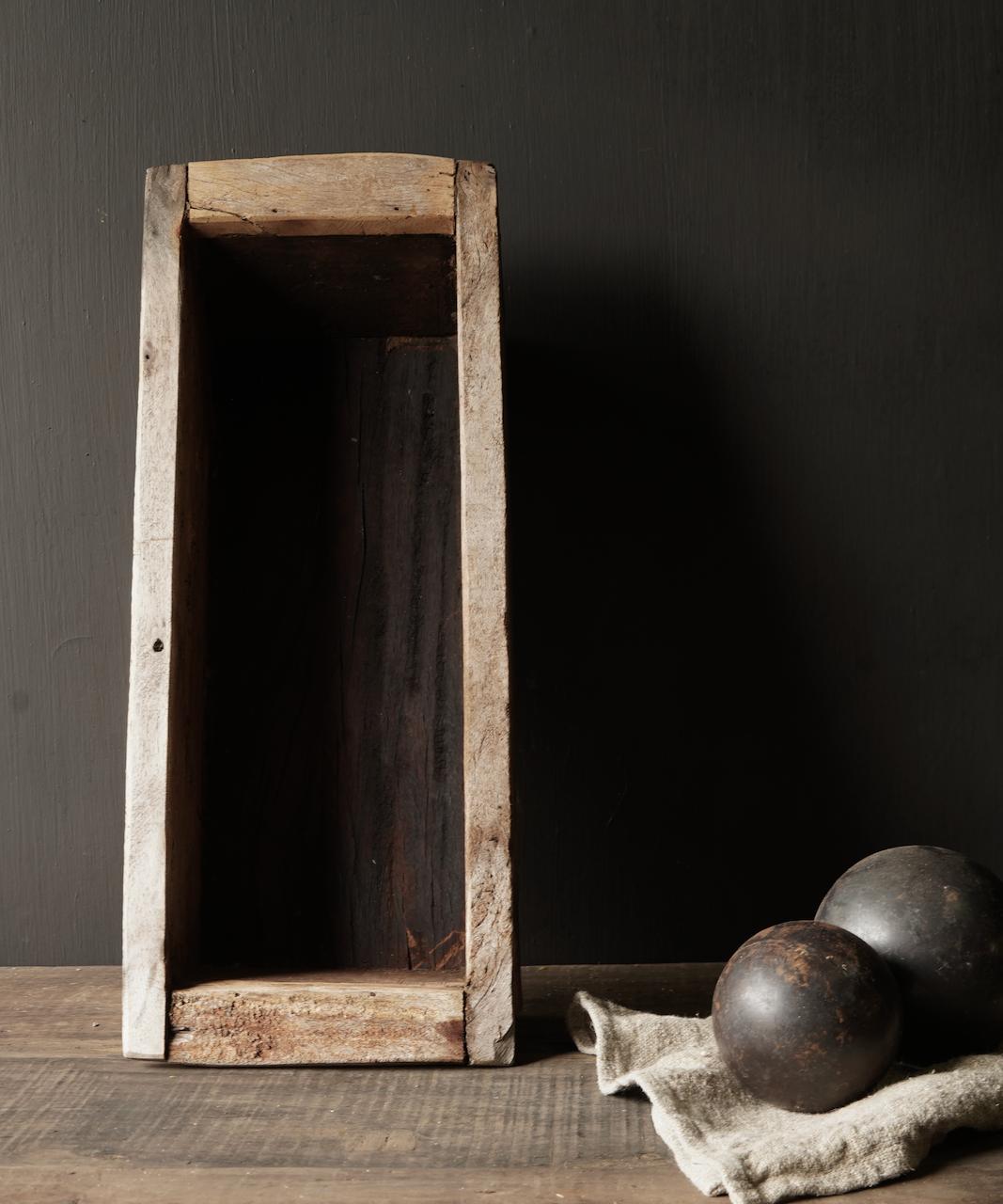 houten bak gemaakt van oud hout-5