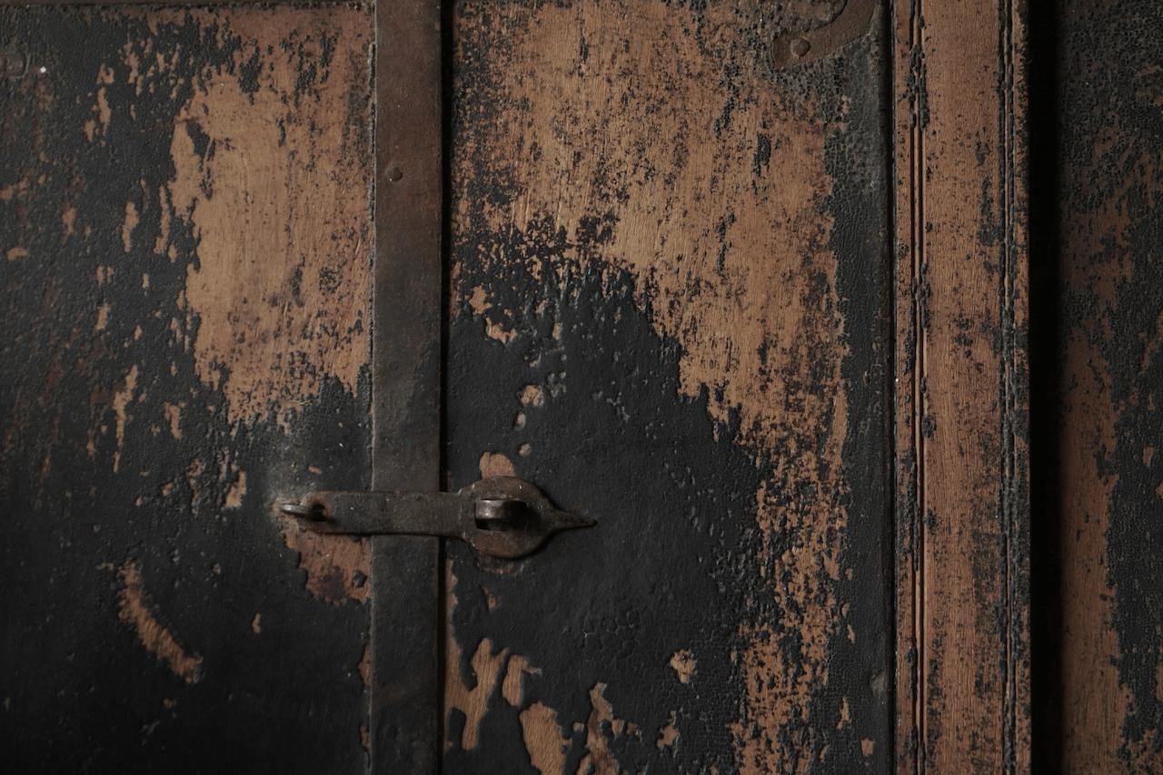 Alter Holzspiegel aus nepalesischem Rahmen-5