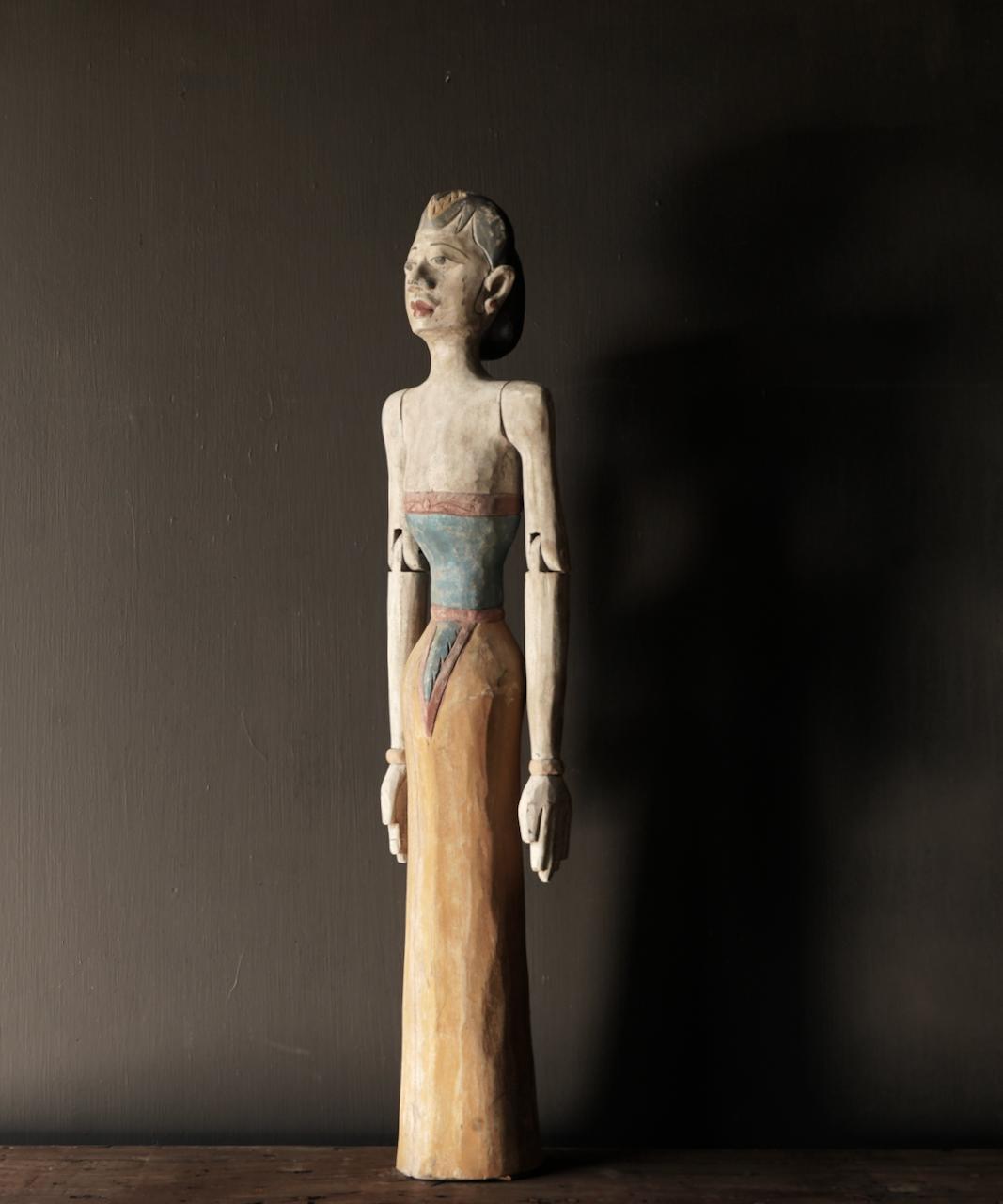 Holz Suar Loro Blonyo Statue (handgemacht)-1