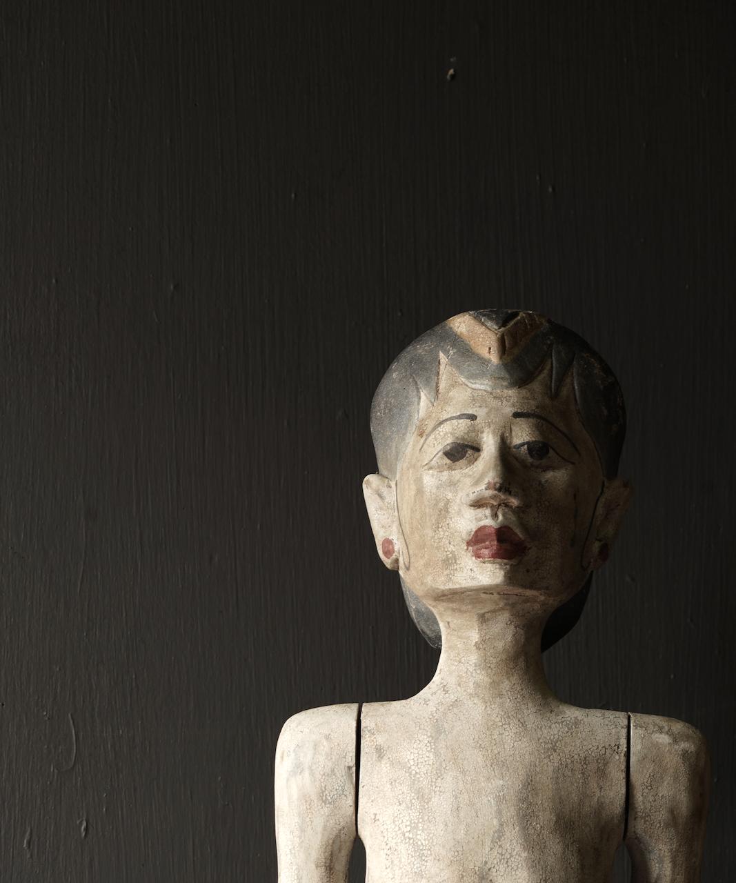 Holz Suar Loro Blonyo Statue (handgemacht)-5