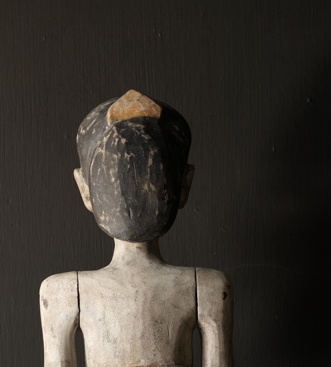 Holz Suar Loro Blonyo Statue (handgemacht)-7