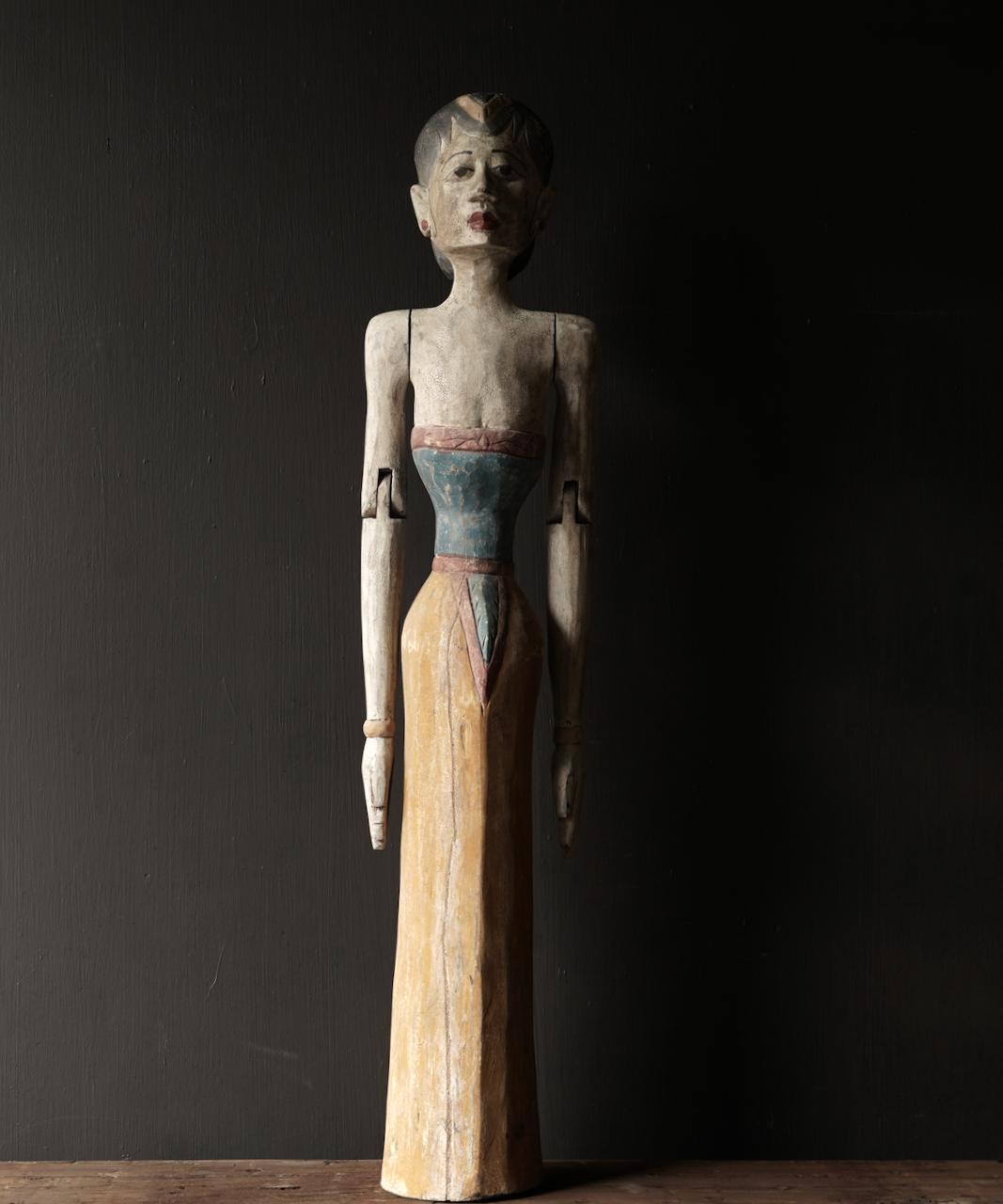 Holz Suar Loro Blonyo Statue (handgemacht)-9