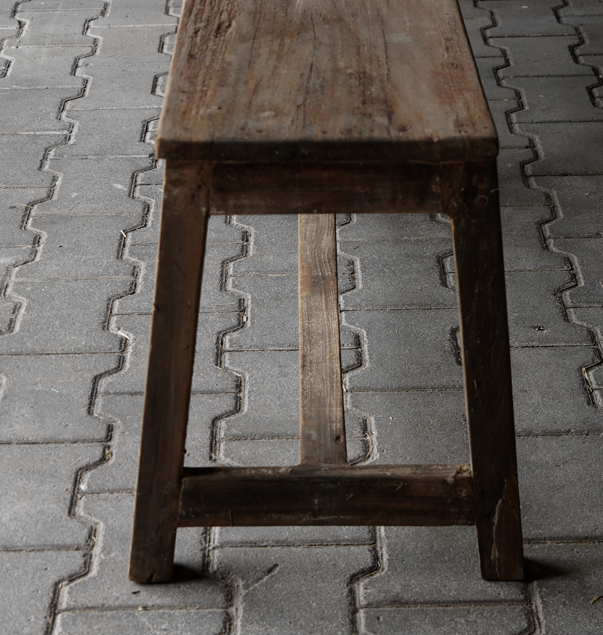 Old wooden bench-6