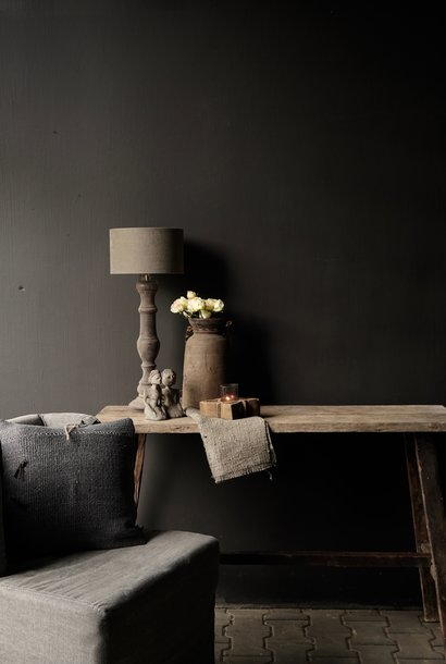 Old wooden side table / wall table