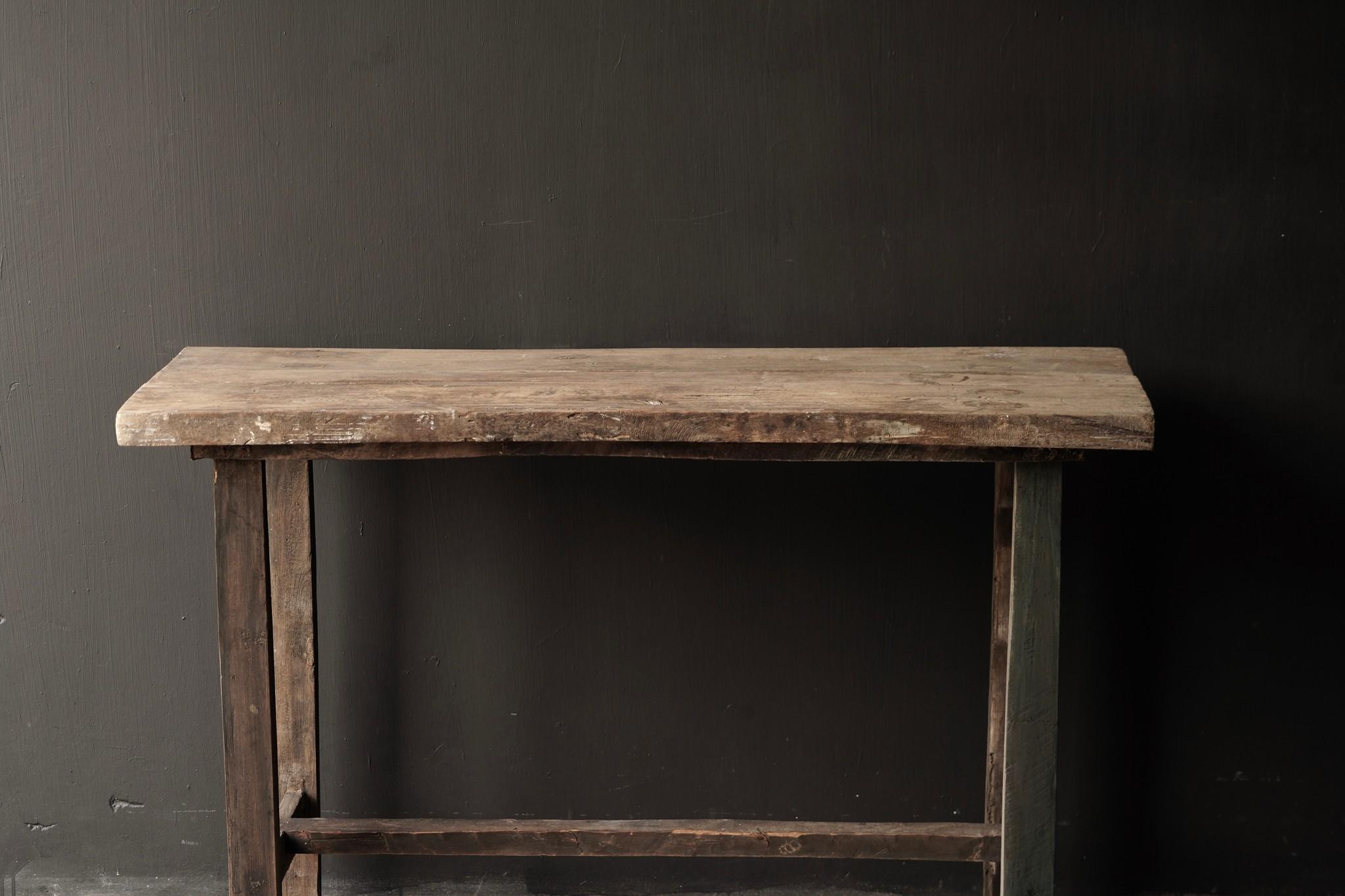 Side table gemaakt van oud stoer robuust oud hout-4