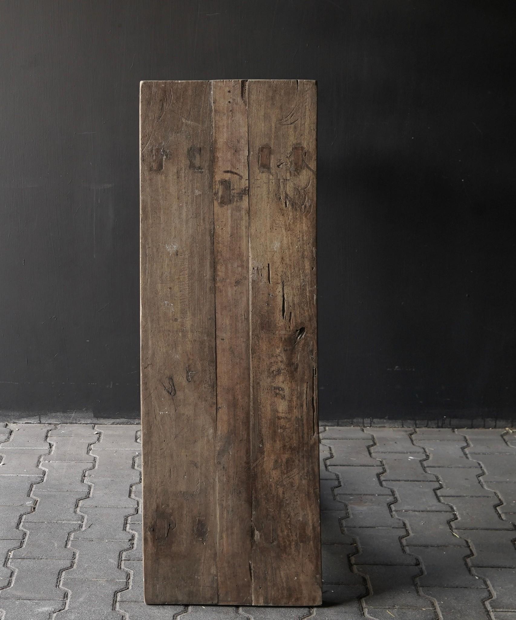 Side table gemaakt van oud stoer robuust oud hout-5