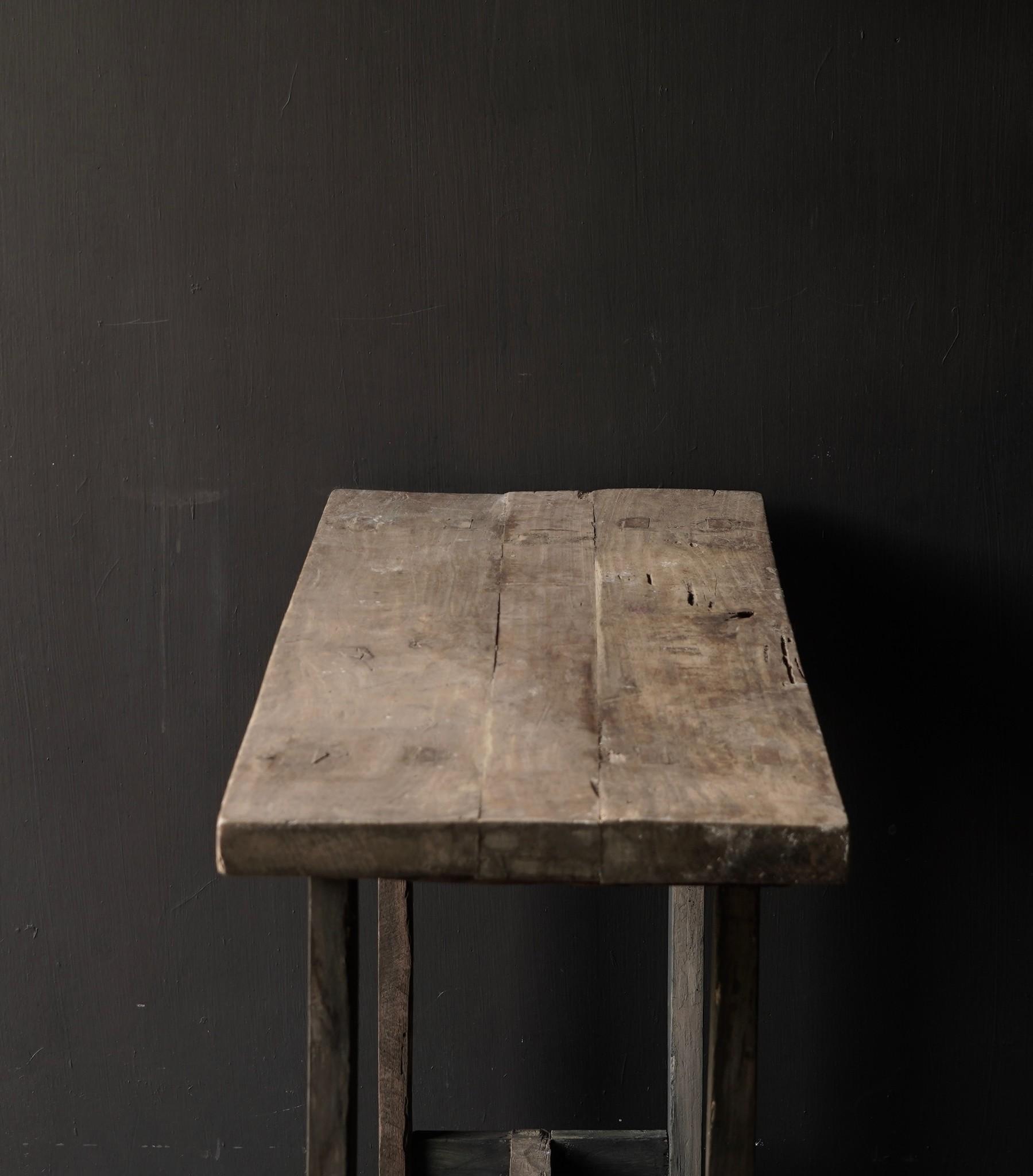 Side table gemaakt van oud stoer robuust oud hout-7