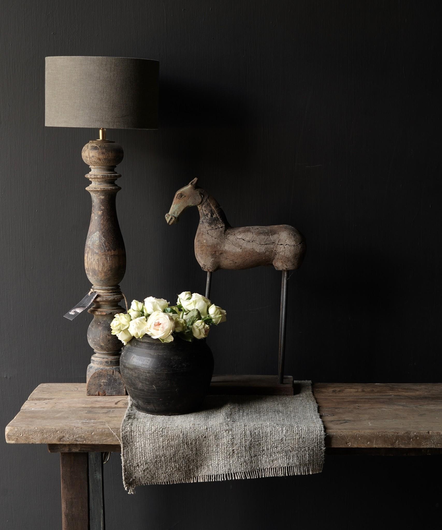 Side table gemaakt van oud stoer robuust oud hout-8