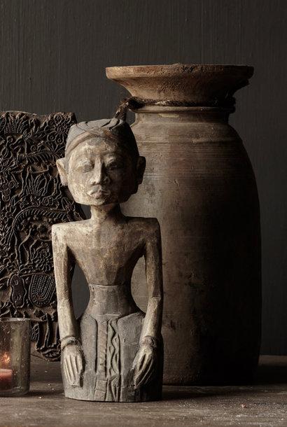 exclusive wooden Suar loro blonyo figurine Bridegroom