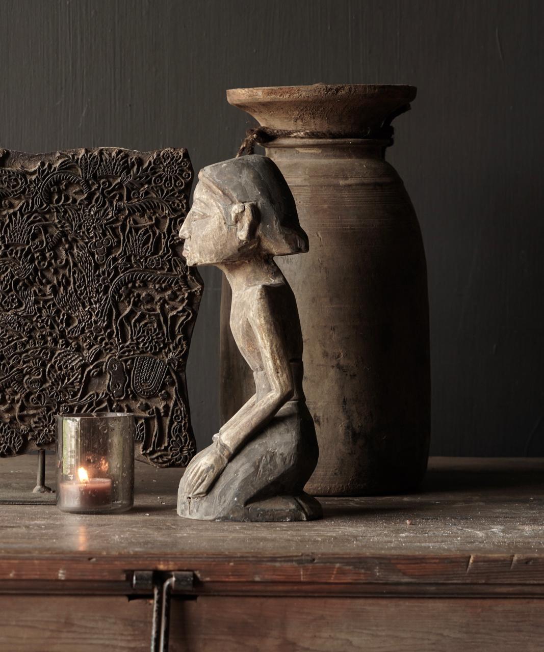 exclusive wooden Suar loro blonyo figurine-2