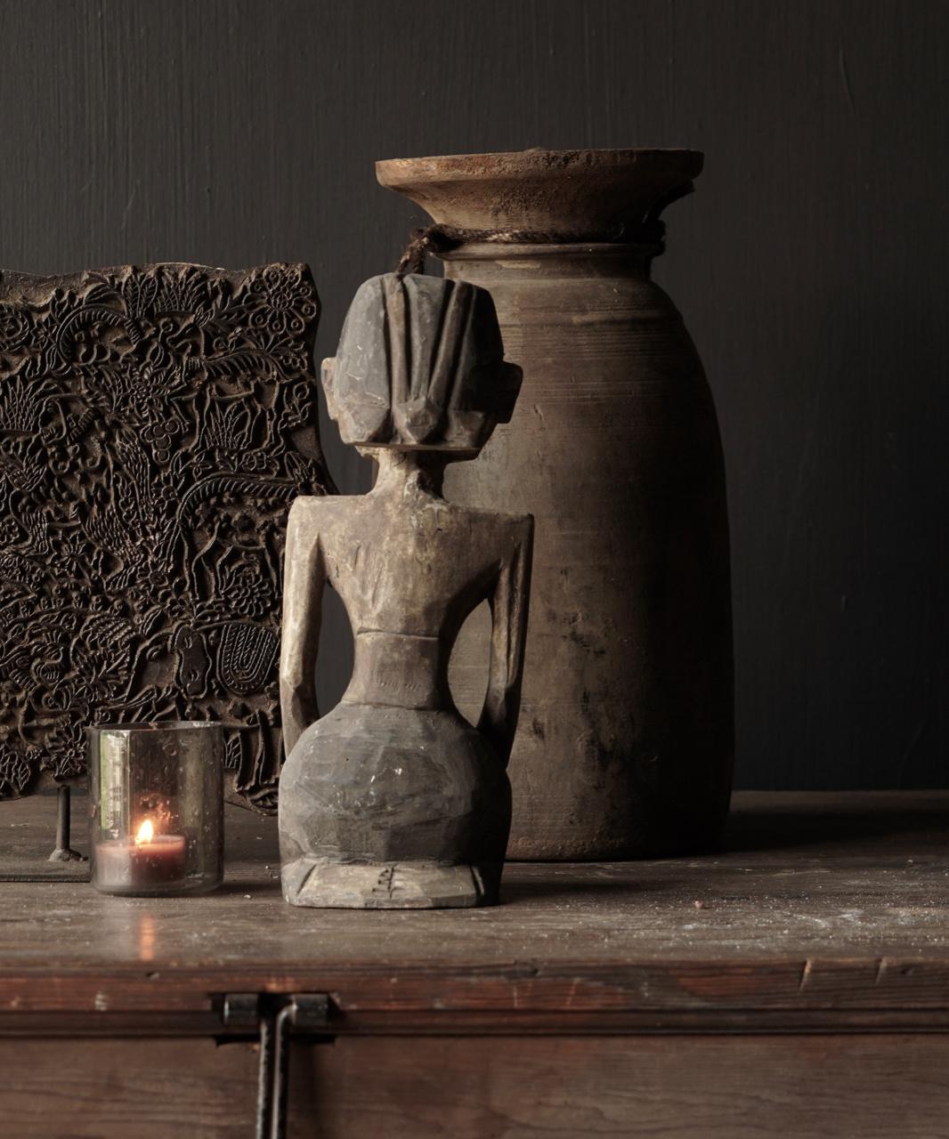 exclusive wooden Suar loro blonyo figurine-5