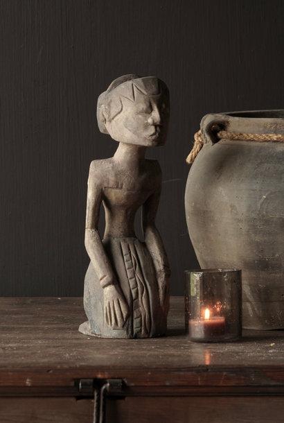 exclusief houten Suar loro blonyo beeldje  Bruid