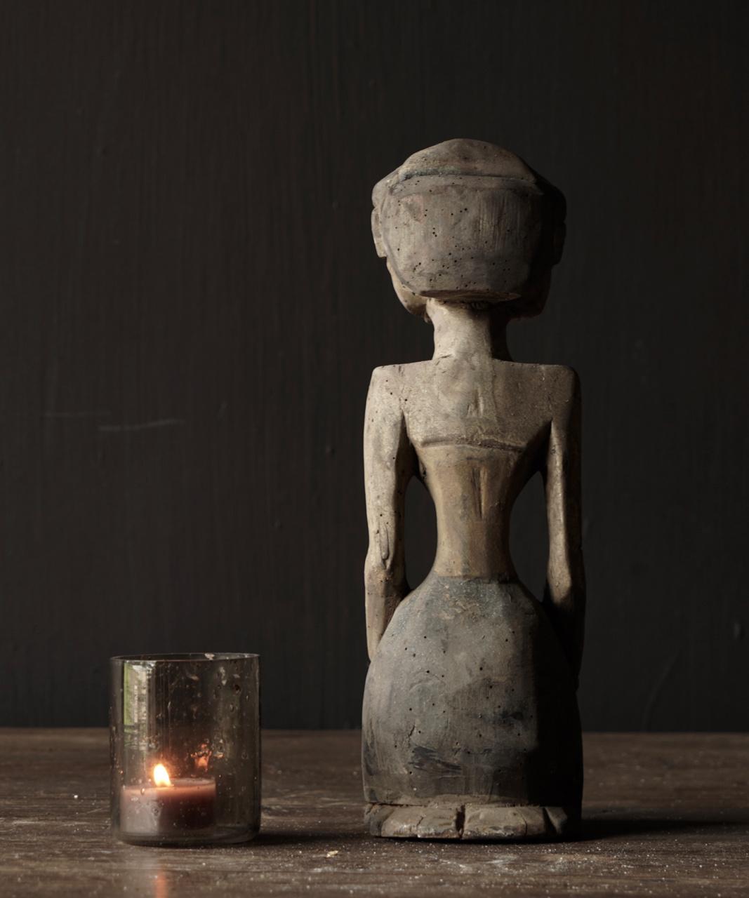 exclusief houten Suar loro blonyo beeldje-3