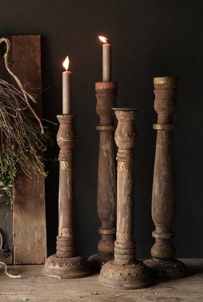 Alter authentischer Kerzenhalter