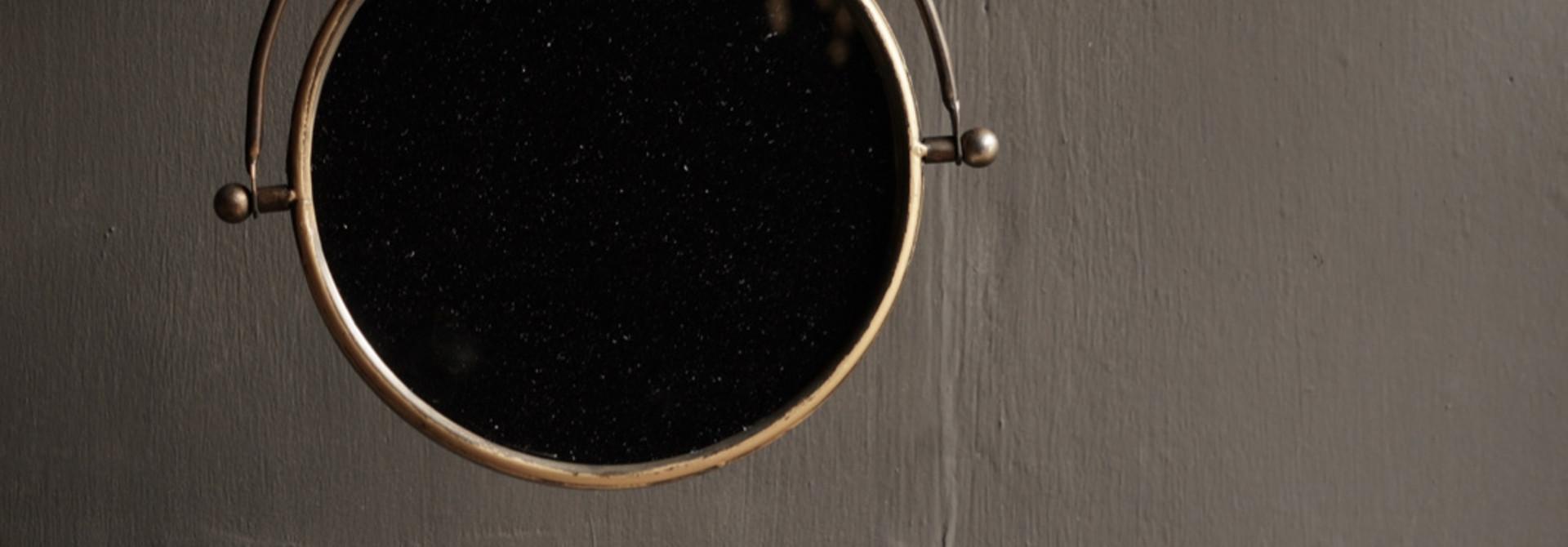 Spiegel für die Wand in der Farbe Kupfer