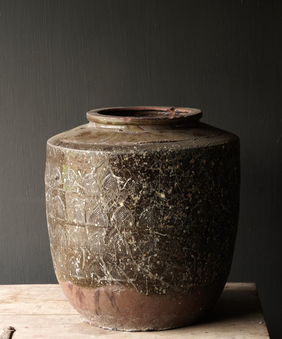 Old antique jug-5