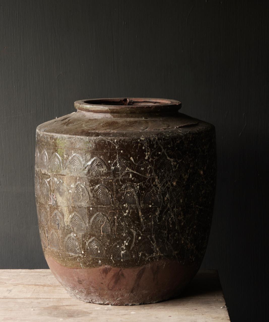 Old antique jug-7